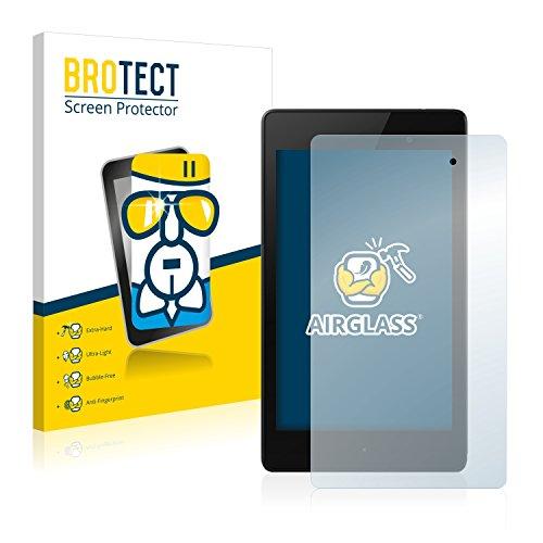 brotect Pellicola Protettiva Vetro Compatibile con Google Nexus 7 (2013) Schermo Protezione, Estrema Durezza 9H, Anti-Impronte, AirGlass