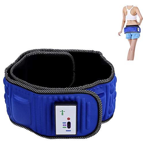 Abnehmen Massage-Gürtels, Elektrische Wärmevibration Saunagürtel, Durchblutung Verbessern Abnehmen und Verdauung Fördern für Bauch, Beine, Schenkel