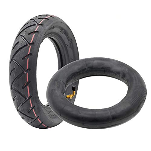Linghuang - Neumático exterior para cámaras de aire hinchado, repuesto de neumáticos de ruedas delanteras/traseras para patinete Inokim Quick/Ox