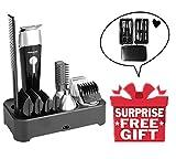 Sminiker Professional 5 in 1 Men's Grooming Kit Hair Clippers Waterproof Beard Trimmer