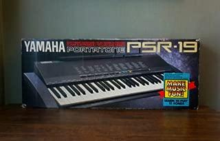 vintage 1990 Yamaha 100 Voice 61 Key Portatone Keyboard PSR19