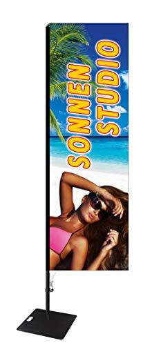 Beachflag Sonnenstudio -ca. 275 cm hoch- SEF588