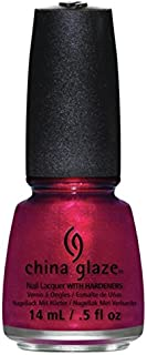China Glaze Nail Polish Holiglaze Red Shimmer Just Be-Claws 81390