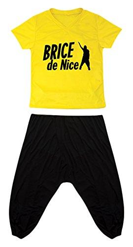 P 'Tit Clown - 84100 - Brice De Nice - reistas volwassenen kostuum, maat S / M