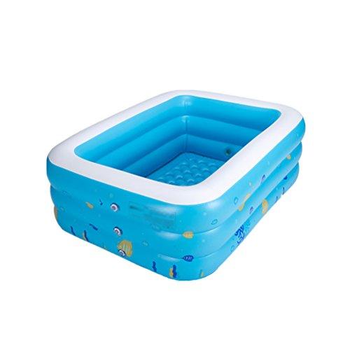 Washbasin Doppelte aufblasbare Badewanne für Erwachsene, Badewanne für Kinder, 120 x 82 x 42 cm, Plastik, 145x105x50cm