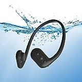 Tayogo 8GB Waterproof MP3 Player Bone Conduction Swimming Headphones (Black)