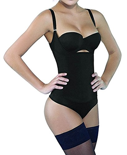 SHAPERX Body Shaper, Womens Shapewear Tummy Control Fajas Colombianas Open...