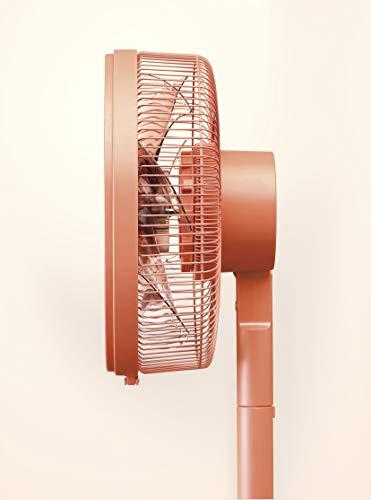 三菱電機SEASONSDCモーター扇風機テラコッタオレンジR30J-DZ-D