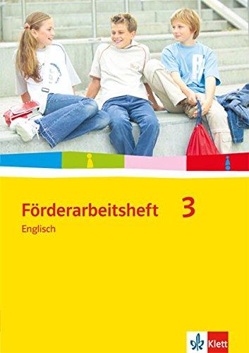 Förderarbeitsheft 3: Englisch