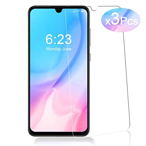 YIEASY 3 Piezas Protector de Pantalla para Xiaomi Mi 9 Lite, Sin Burbujas [3D touch/9H Dureza] [Anti arañazos] [Fácil de Instalar] Cristal Vidrio Templado paraXiaomi Mi 9 Lite - Transparente