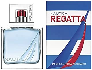 Regatta Eau De Toilette Spray for Men by Nautica , 1.0 Ounce (30ml)