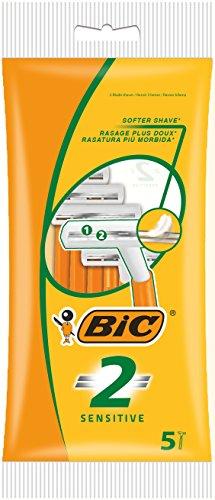 Bic 2 - Cuchillas de afeitar de doble hoja (25 unidades)