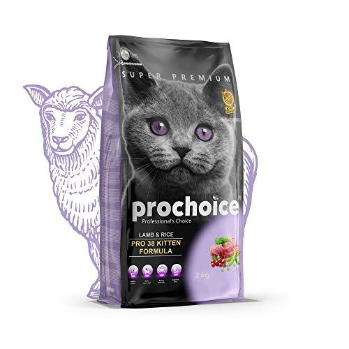 Prochoice - Pro 38 Lamb & Rice Formula For Kittens - 3x2kg
