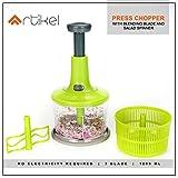 Artikel Jumbo Chopper with Blending Blade & Salad Spinner   Chops Vegetables, Nuts & Fruits   Minces...