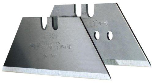 Preisvergleich Produktbild Stanley Trapezklingen 1992 (mit Lochung,  10 Stück in Sicherheitsverpackung,  für harte Materialien) 119166