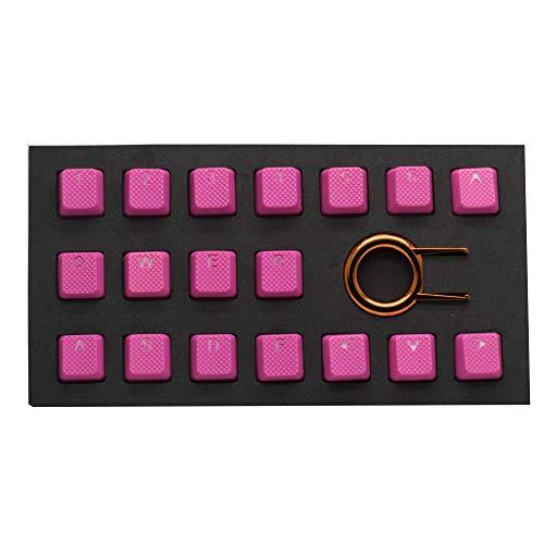 TaiHao - Juego de teclados retroiluminados de Goma TPR para teclados mecánicos Cherry MX compatibles con OEM