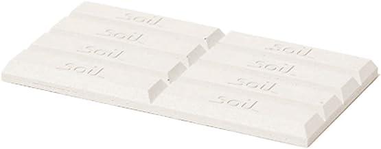 soil 珪藻土 ドライングブロック ミニ ホワイト 「板チョコ型乾燥剤」