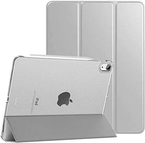 MOCA [Translucent Back] Smart Flip Cover Case for iPad 10.9 iPad Air 4 4th Generation 2020 Model A2072 A2316 A2324 A2325 iPad Flip Cover Case