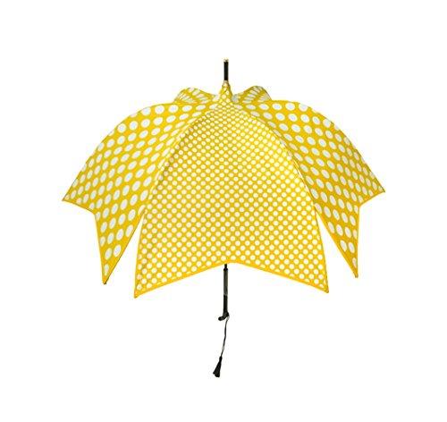 【正規輸入品】 ディチェザレ デザイン マルガリータ 全2色 長傘 手開き 日傘/晴雨兼用 ダブルドッツ 12本骨 55cm グラスファイバー骨 高級品