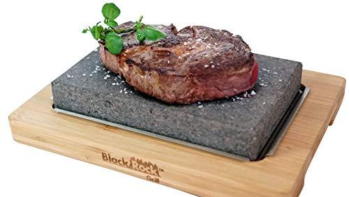 Preisvergleich Produktbild Black Rock Grill Hot Steak Stone Cooking Rock Set