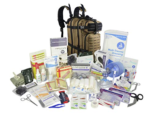 Lightning X Stocked First Aid Responder Medical Backpack + Kit