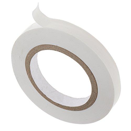 MagiDeal Cinta de Enmascarar de Plástico Blanca para Curva Herramienta de Artesanía - 8mm