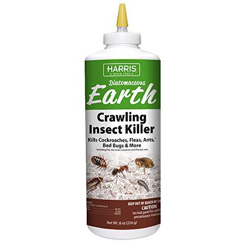 Harris Diatomaceous Earth Crawling Insect Killer  8oz