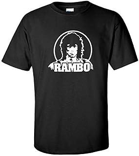 Rambo 80s Retro Movie Black T-Shirt