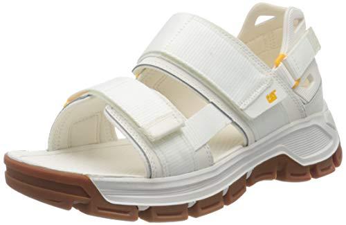 Cat Footwear Herren Progressor Römersandalen Sandalen, weiß (Star White White), 45 EU