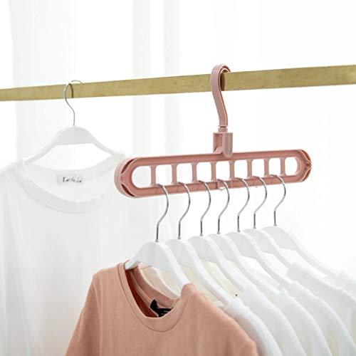 TYOLOMZ Kleiderbügel für Kleidung mit mehreren Anschlüssen, aus Kunststoff, für Schals, Kabinen