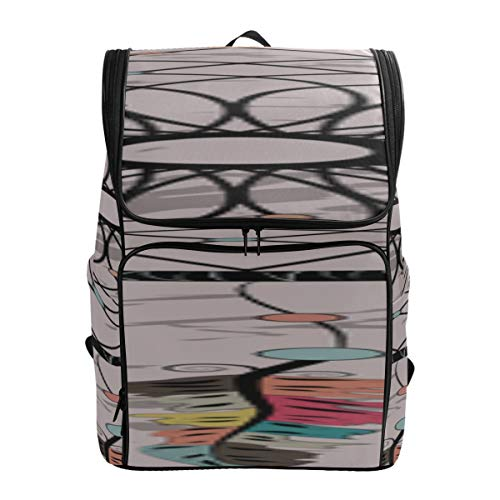 Colorful Dream Catcher Daypack Hiking Backpack Best Packable Daypack Ladies College Bag Sport Bag Women Fits 15.6 Inch Laptop And Notebook Girl Sports Bag Toddler Hike Bag
