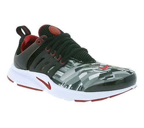 Nike Nike Jungen 859596-001 Traillaufschuhe, Schwarz (Black/Gym Red/Wolf Grey/White), 37.5 EU