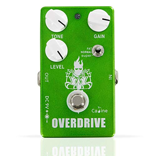 Overdrive Guitar Effect Pedal - Caline CP75 Overdrive Pedal Portable Guitar Effect Pedal