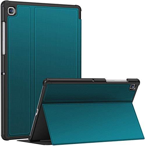 Soke Hülle für Samsung Galaxy Tab S5e 10.5 (SM-T720/T725), Premium TPU Folio Ständer Schutzhülle, Magnetic Smart Cover Mit Auto Schlaf/Aufwach für Samsung Tab S5e 10,5 2019 Tablet, Blaugrün