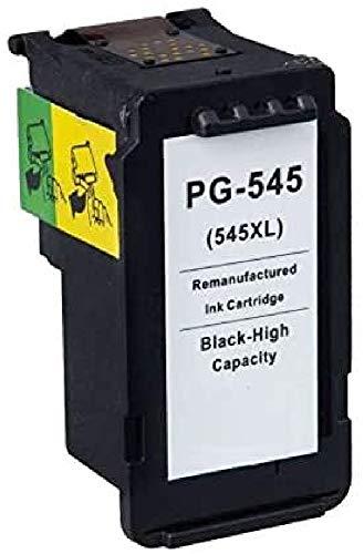 Cartuccia Canon PG-545XL Nero Compatibile per Canon MG2450 MG2550 iP2850 MG2950 8286B001, Capacità: 15ml