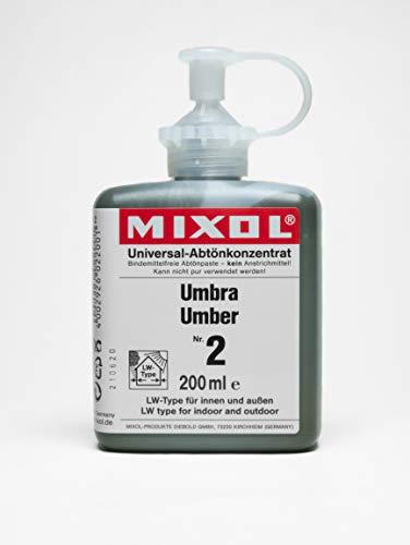 MIXOL 4002926022001 Abtönpaste, Umbra
