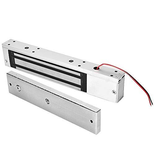 Cerradura eléctrica, DC12V / 24V 1200 kg Cerradura electromágnetica Pernos Muertos Integrados de la Cerradura magnética de la Sola Puerta