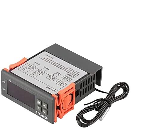 ARCELI Controlador de Temperatura Digital AC 110V-220V Fahrenheit/Centígrados Termostato/Modo de...