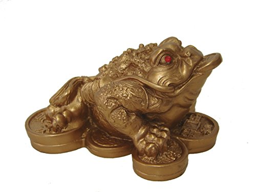 1 X Feng Shui Money Frog /Money Toad Attract Wealth