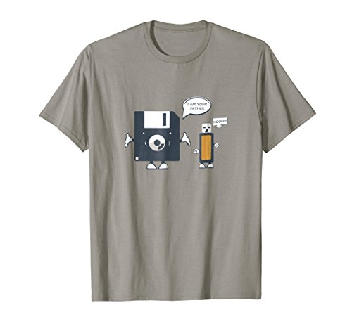 USB Floppy Disk I Am Your Father TShirt  Funny Nerd Geek Tee
