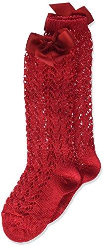 Condor 2519/2 Calcetines, Rojo (Rojo 550), 2 años (Tamaño del fabricante:2) para Niñas