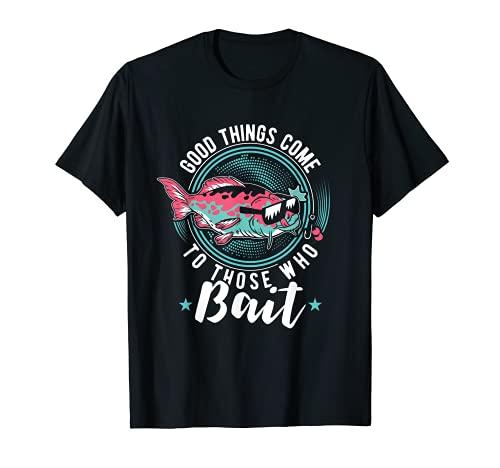 Regla de pesca I Pescador I Accesorios para kayak de pesca Camiseta