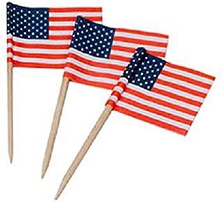 5300-99 100 قطعة من داريس، قلم تحديد أسنان بعلم الولايات المتحدة الأمريكية، STD، متعدد الألوان