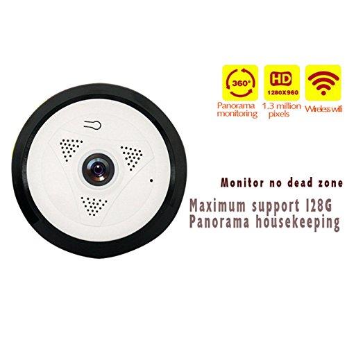 Dome Kamera Attappe/WiFi Kamera PTZ/WLAN Netzwerk IP ¨¹berwachungskamera/Sicherheitskamera Mini/IP Kamera Wireless V-EC10I6, F¨¹r Android IOS Smartphone / 3D High-Definition Video