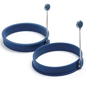 Norpro Silicone Round Pancake/Egg Rings 2 Pieces