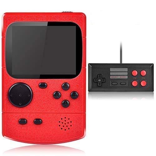 Gamory Console di Gioco Portatile Videogiochi Portatili con 400 Giochi Classici Schermo a Colori da 3 Pollici per 2 Giocatori Supporto TV Console per Giochi Portatili 3 Ore+ per Bambini Adulti