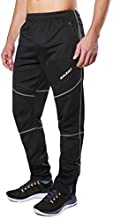 BALEAF Men's Cycling Pants Biking Cold Weather Thermal Fleece Winter Mountain Bike Running Windproof Workout Black L