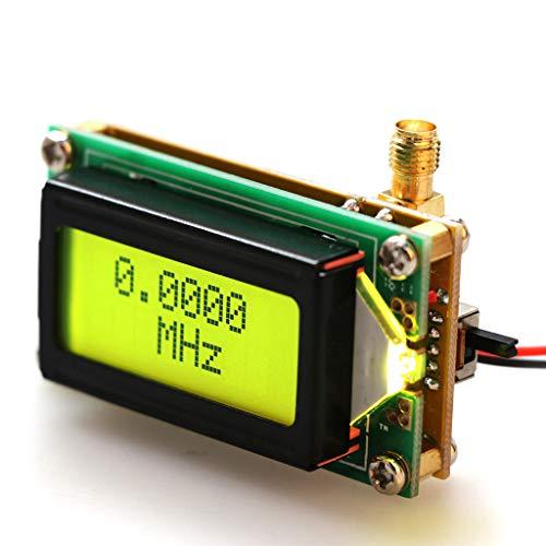 WEISHAZI Hochpräziser Frequenzzähler, RF-Meter, 1~500 MHz, Testmodul für Amateurfunk