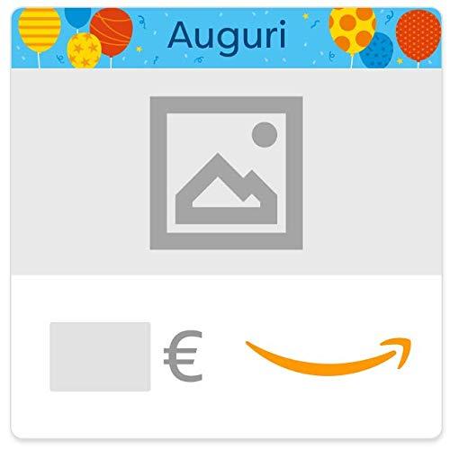 Buono Regalo Amazon.it - Digitale - Personalizzato - Compleanno (palloncini)