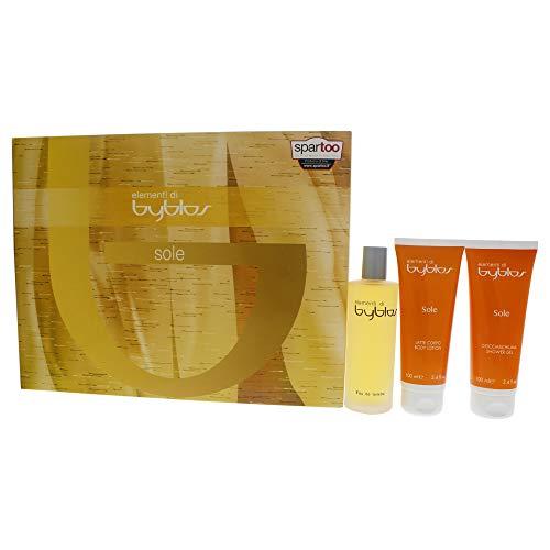 Set con profumo e doccia schiuma BYBLOS SOLE per donna EAU-1704